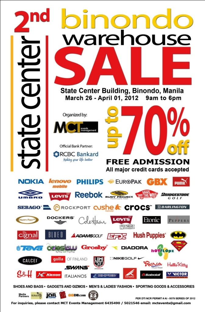2nd Binondo warehouse sale 2012