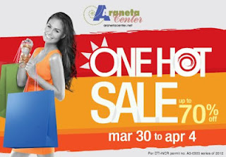 Araneta Center Sale March 2012