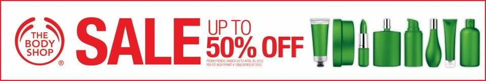 Body shop summer sale march 2012