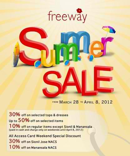 Freeway Summer Sale 2012