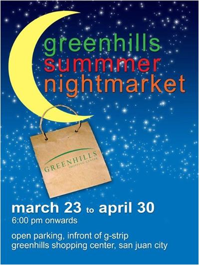 Greenhills Summer Night Market 2012