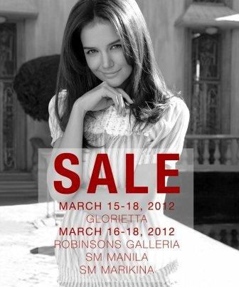 Kamiseta sale glorietta&robinsons march 2012