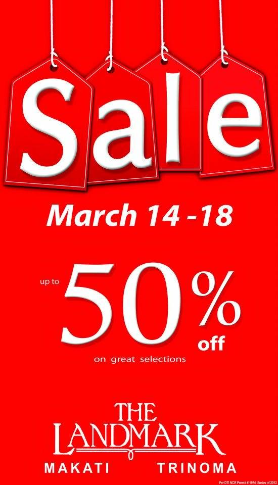 Landmark sale march 2012