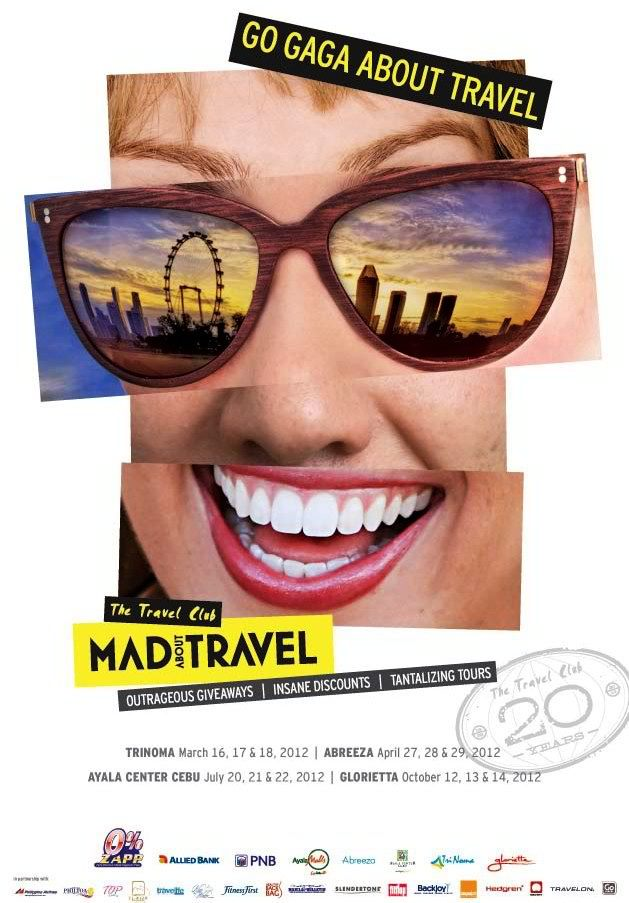Mad About Travel 2012 Club Poster