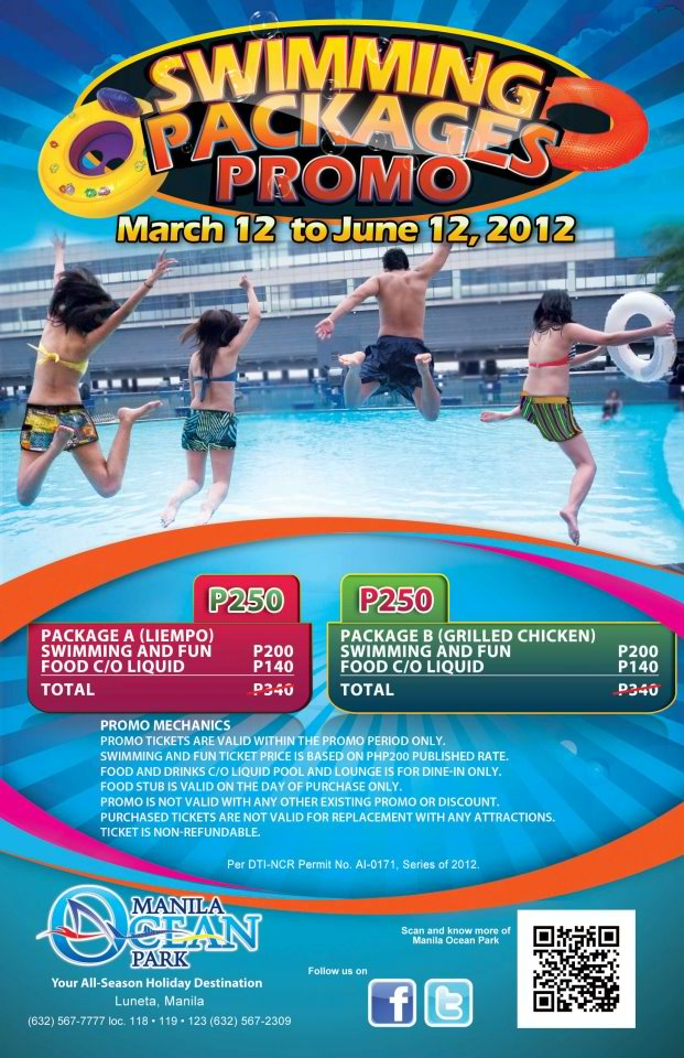 Mla Ocean Park Swimming Package Promo Mar-june-2012