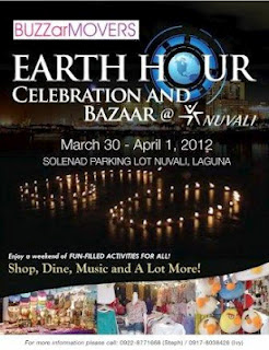 Earth Hour Celebration and Bazaar @ Nuvali