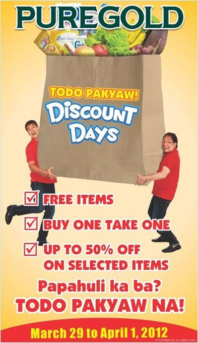 Puregold Discount Days 2012