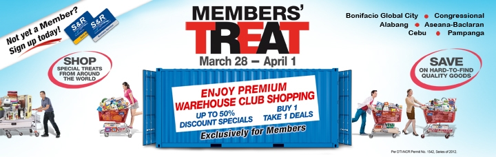 SNR Members Treat March 2012