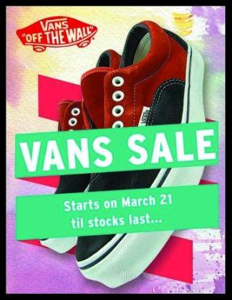 Vans Sale at Triology march 2012