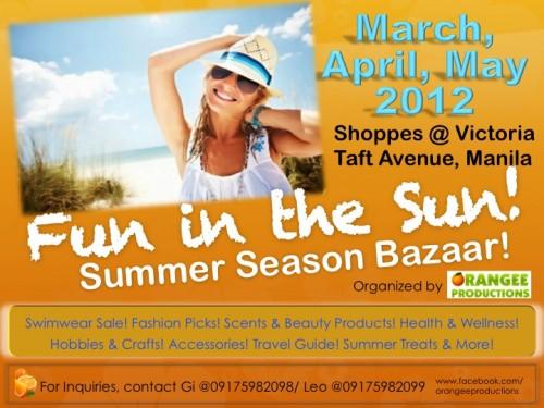 Fun in the Sun Bazaar 2012