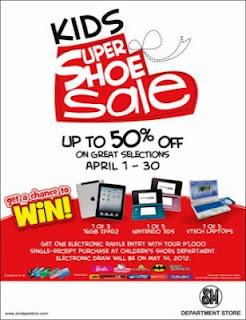 Kids Super Shoe Sale April 2012