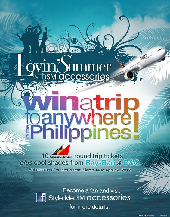 Win a trip to anywhere in the Philippines with SM Accessories