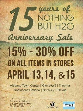 Nothing but H20 Sale 2012