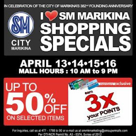 SM Marikina Sale April 2012
