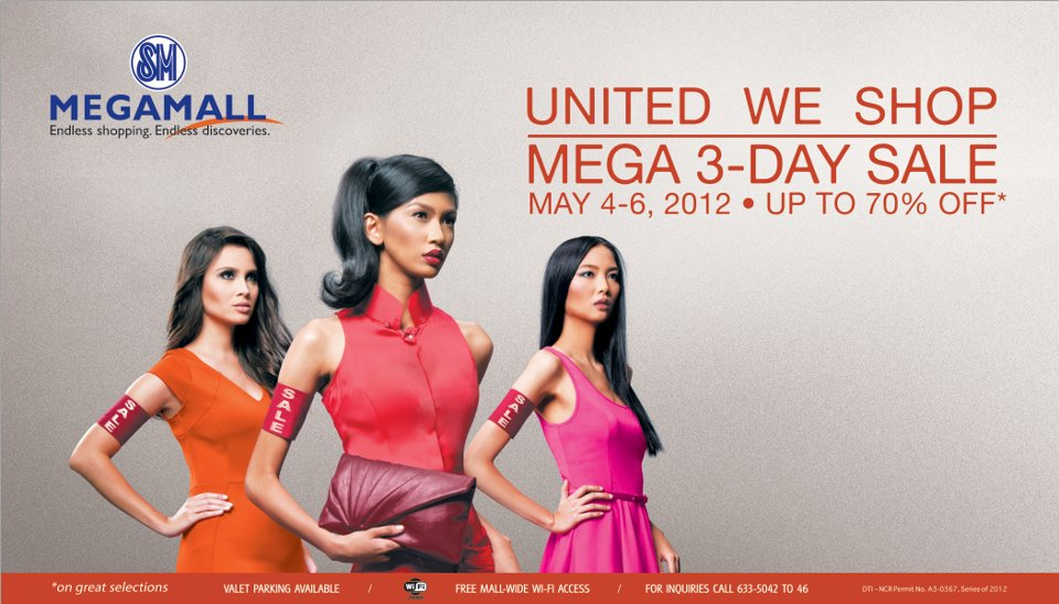 SM Megamall Sale May 2012