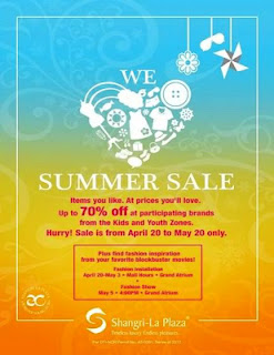 Shangri-la Mall Summer Sale 2012