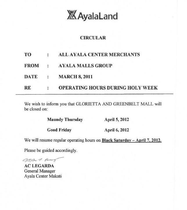 ayala-land-mall-hours-holy-week-2012
