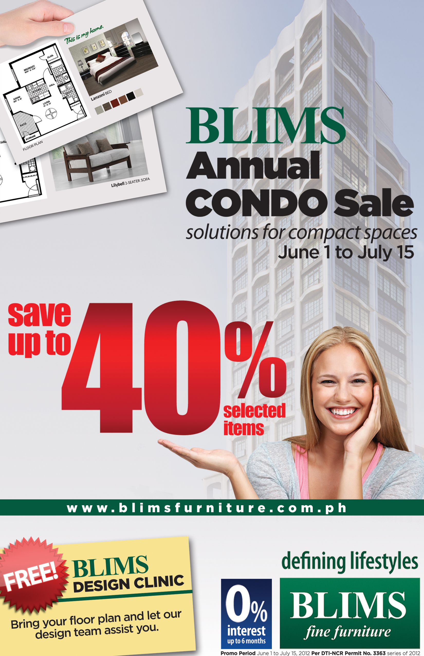 BLIMS Annual Condo sale June 2012