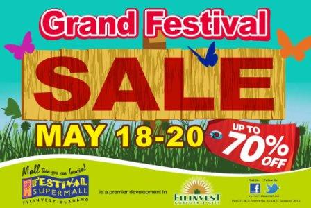 Festival Mall Sale May 2012