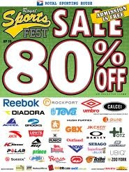 Royal Sporting House Sale @ SM Megatrade Hall June 2012