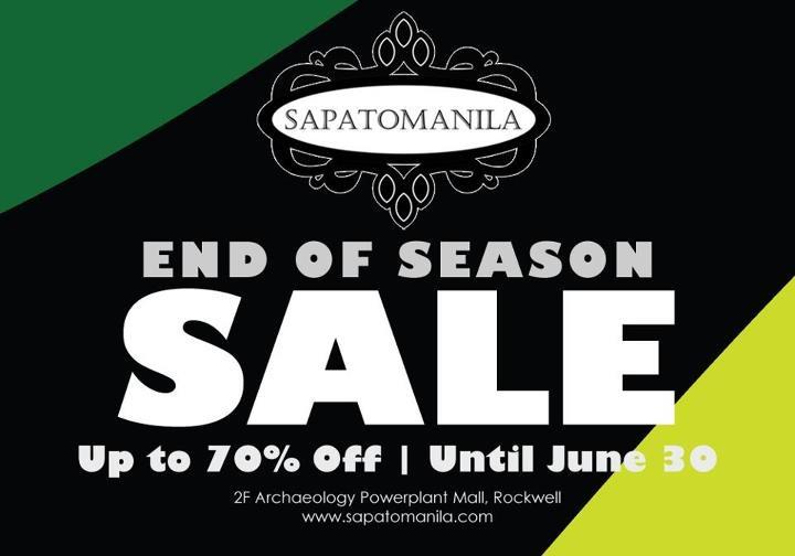 Sapato Manila Sale June 2012