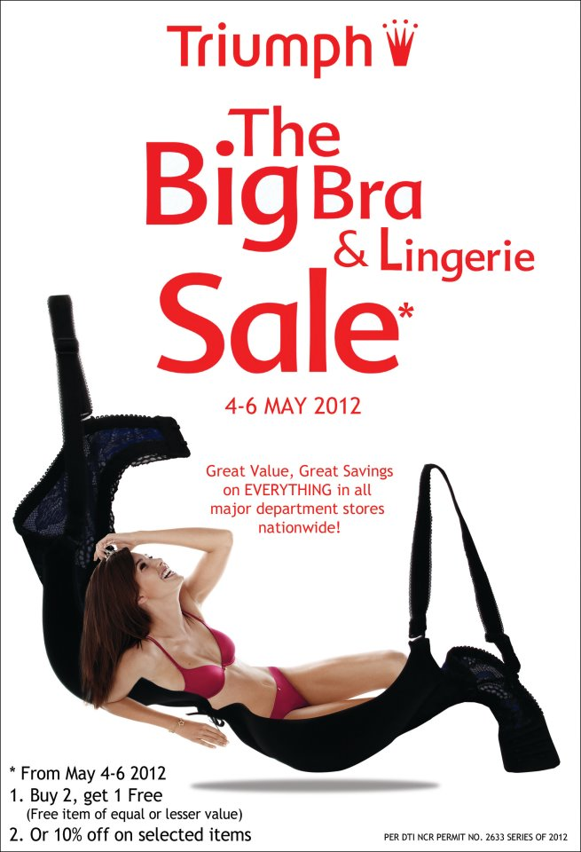 Triumph: The Big Bra and Lingerie Sale May 2012