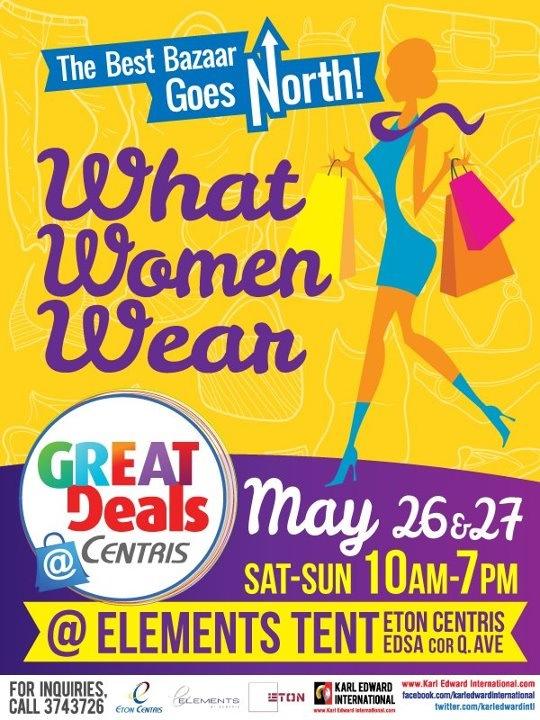 What Women Wear Bazaar May 2012