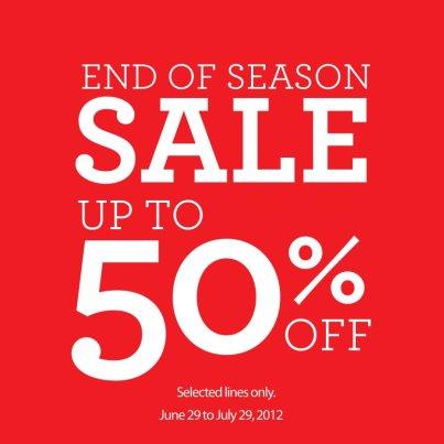 Dorothy Perkins End of Season Sale June - July 2012