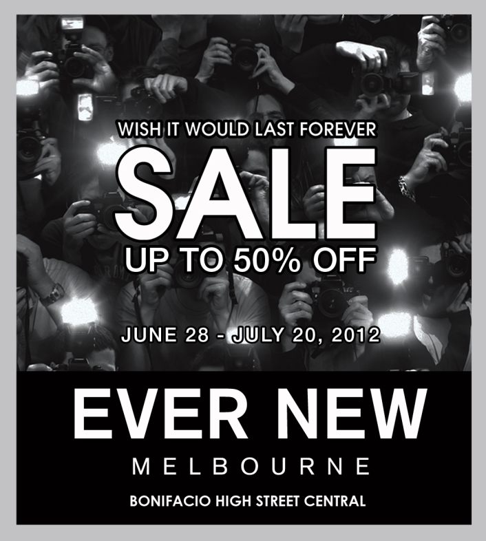 Ever new Melbourne Sale June - July 2012