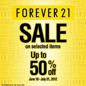 Forever 21 Sale June - July 2012