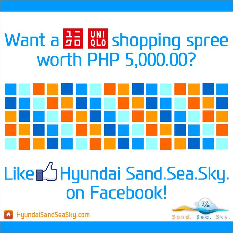 Hyundai Sand. Sea. Sky. Promo June - July 2012
