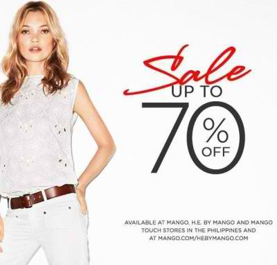 Mango Sale (Further Reductions) June - July 2012
