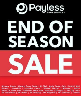 Payless End of Season Sale June 2012