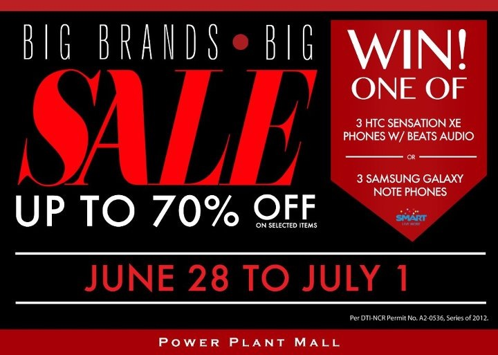 Power Plant Mall Big Brands Sale June 2012