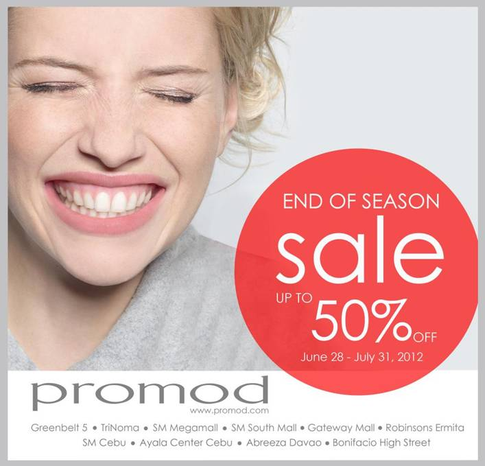Promod End of Season Sale June - July 2012