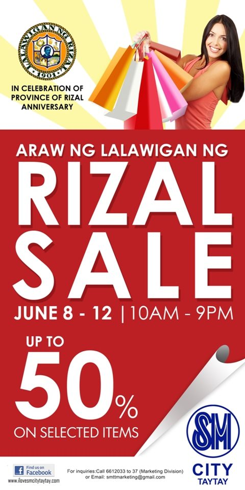 SM City Taytay Sale June 2012