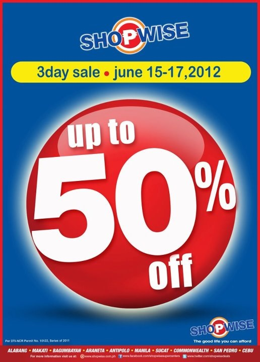 Shopwise Sale June 2012