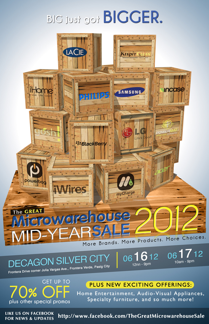 The Great Microwarehouse Sale June 2012