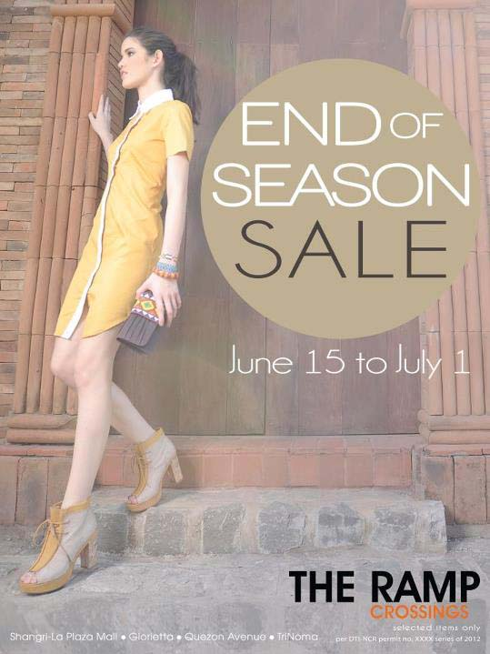 The Ramp Crossings Sale June 15 - July 1, 2012