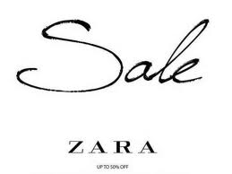 Zara End of Season Sale June - July 2012