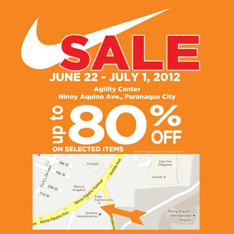 nike agility sale 2012