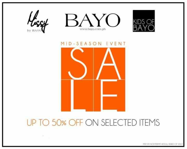 Bayo Midseason Sale July 2012