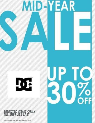 DC Shoes Mid-Year Sale July 2012