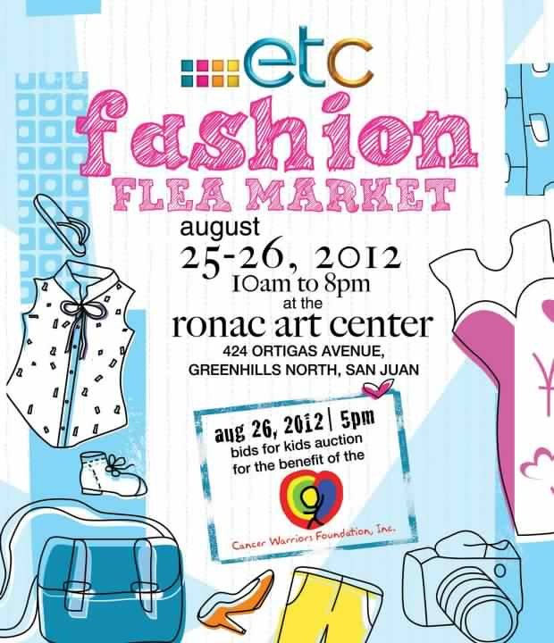 Fashion Flea Market @ Ronac Art Center August 2012