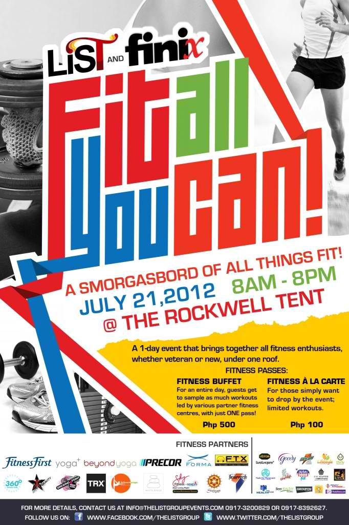 Fit All You Can! @ The Rockwell Tent July 2012