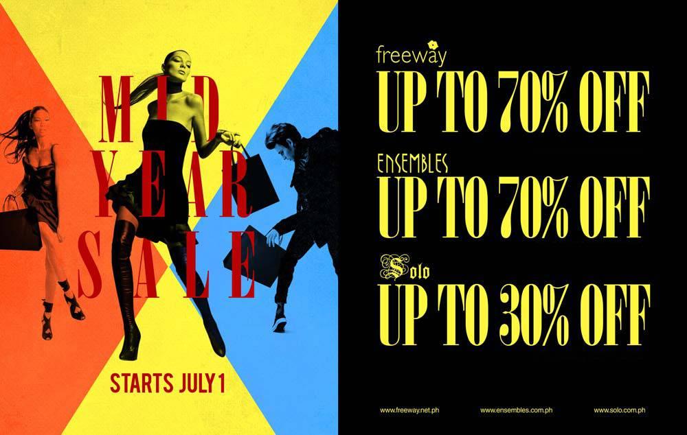 Freeway Ensembles Solo Mid-Year Sale July 2012