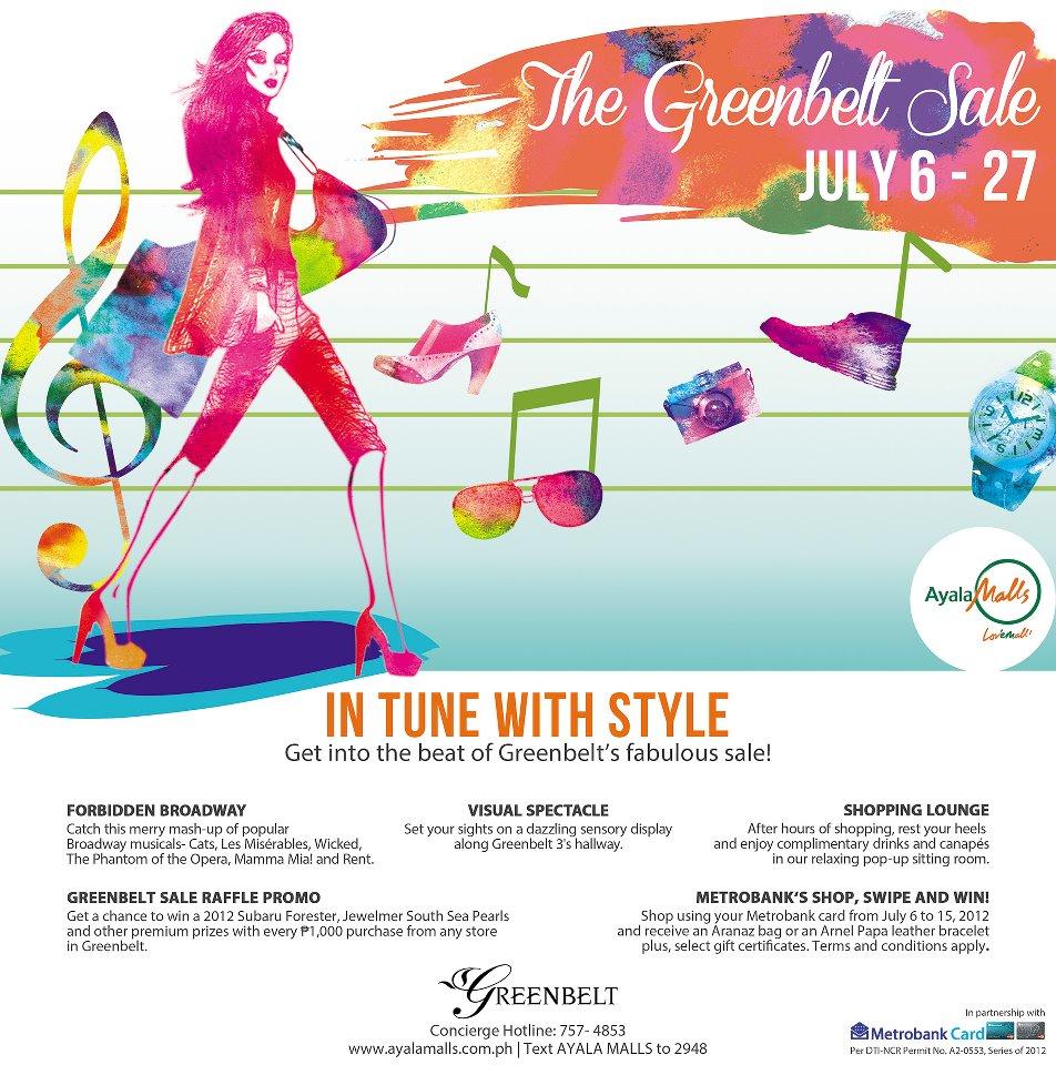 Greenbelt Sale July 2012