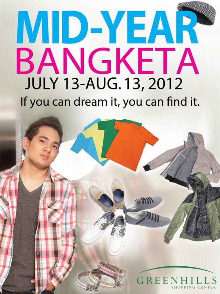 Greenhills Mid-Year Bangketa July - August 2012