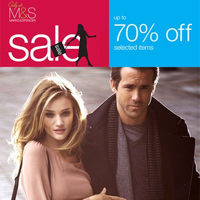 Marks and Spencer Further Reduction Sale July - August 2012