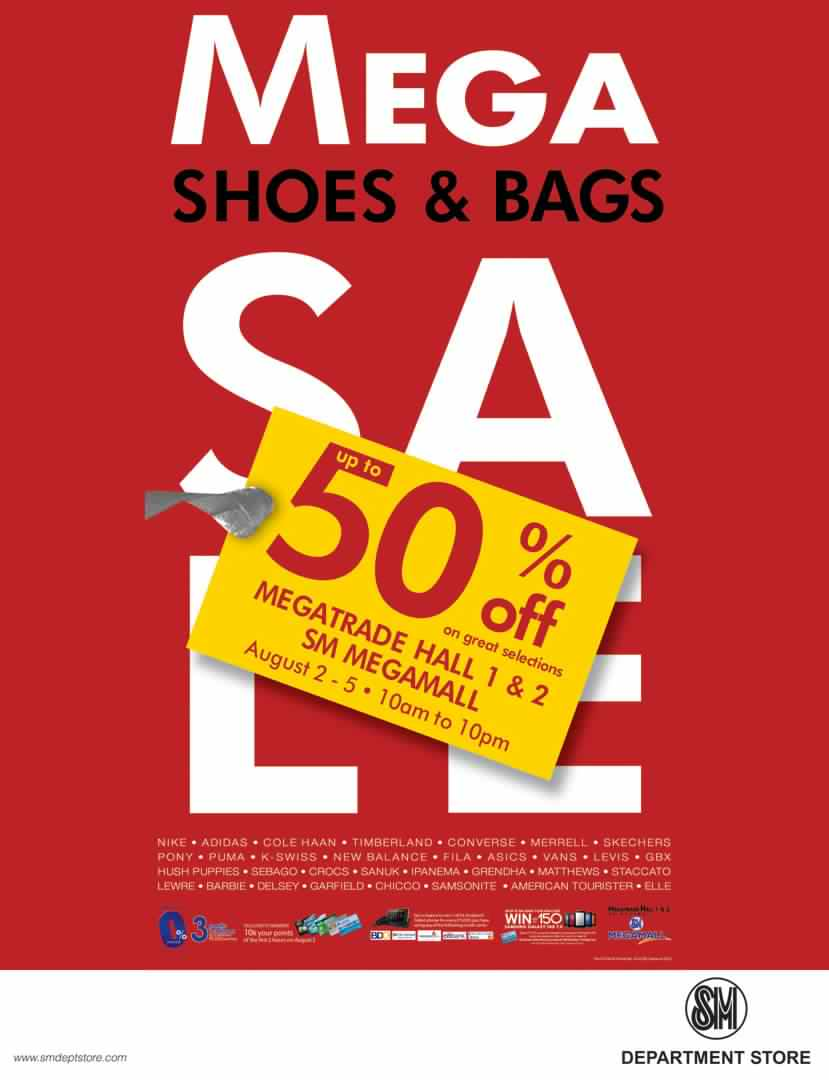 Mega Shoes and Bags Sale August 2012